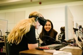Girls Make VR program